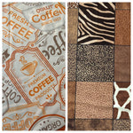 COFFEE PLEASE/ANIMAL PRINT
