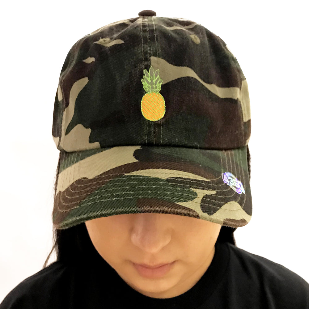 CAPS CAMOUFLAGE WITH YELLOW PINEAPPLE