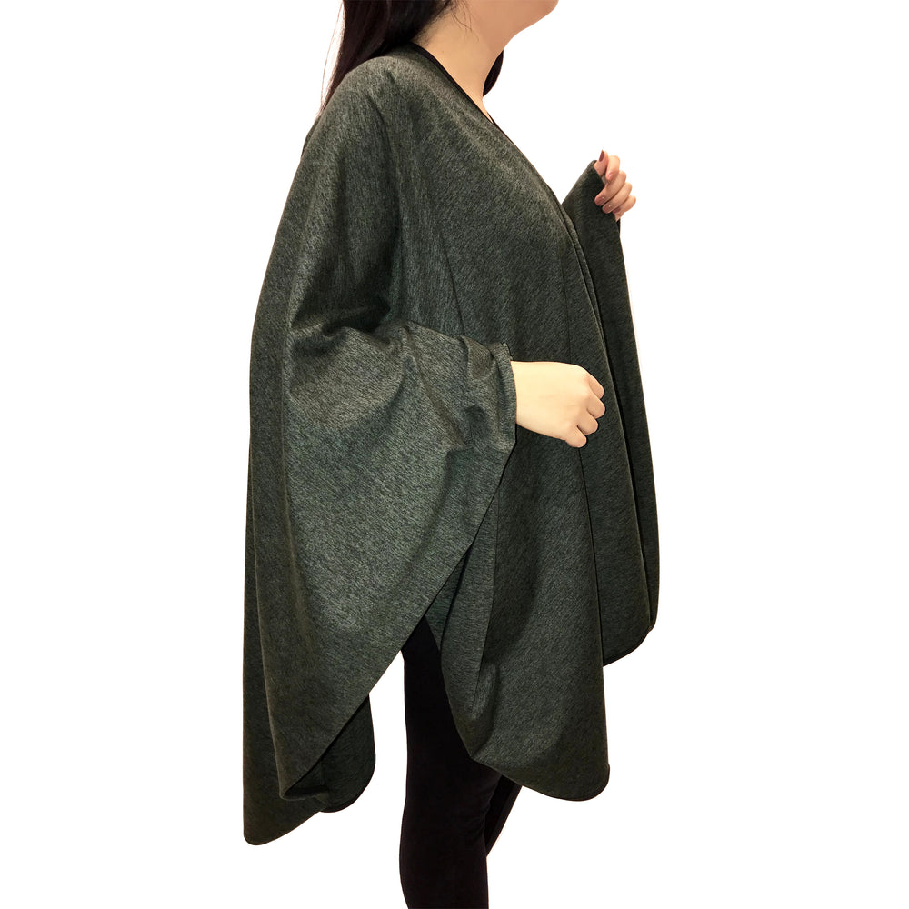 SHAWL TRAVEL HUNTER GREEN