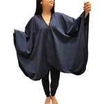 SHAWL TRAVEL ROYAL BLUE