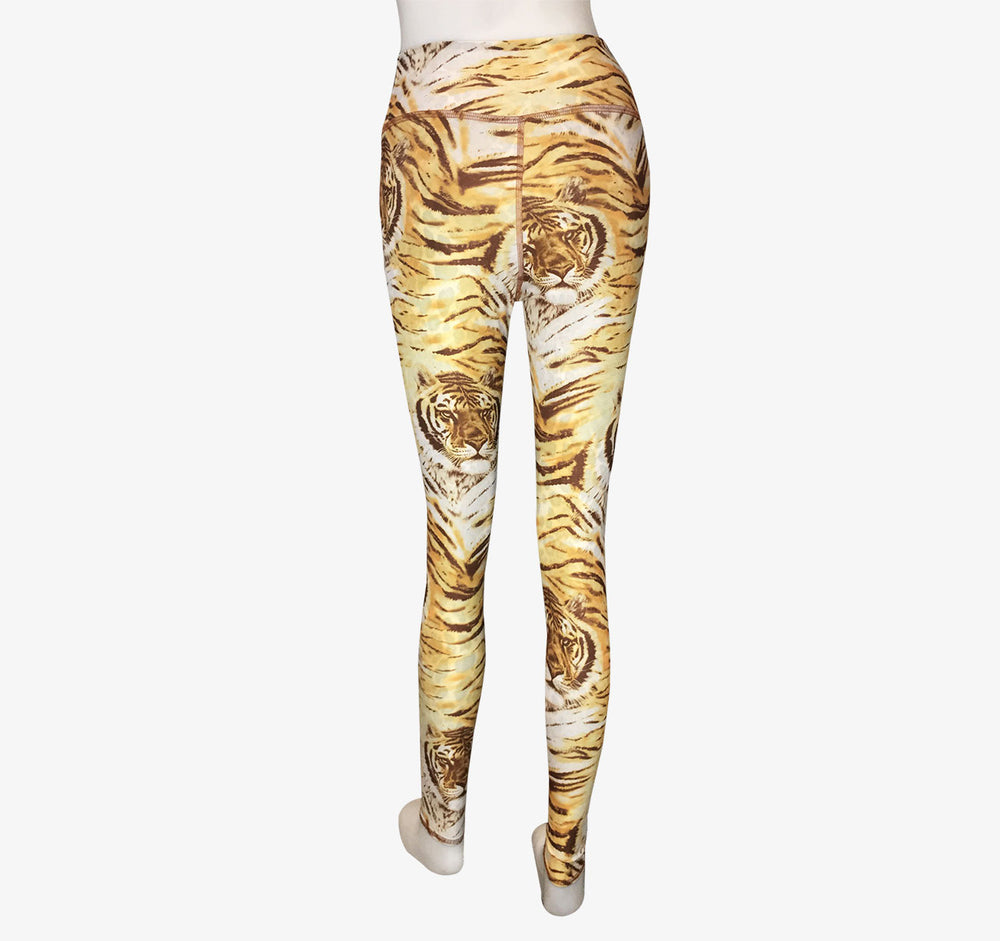 LEGGINGS BROWN TIGER/LEOPARD