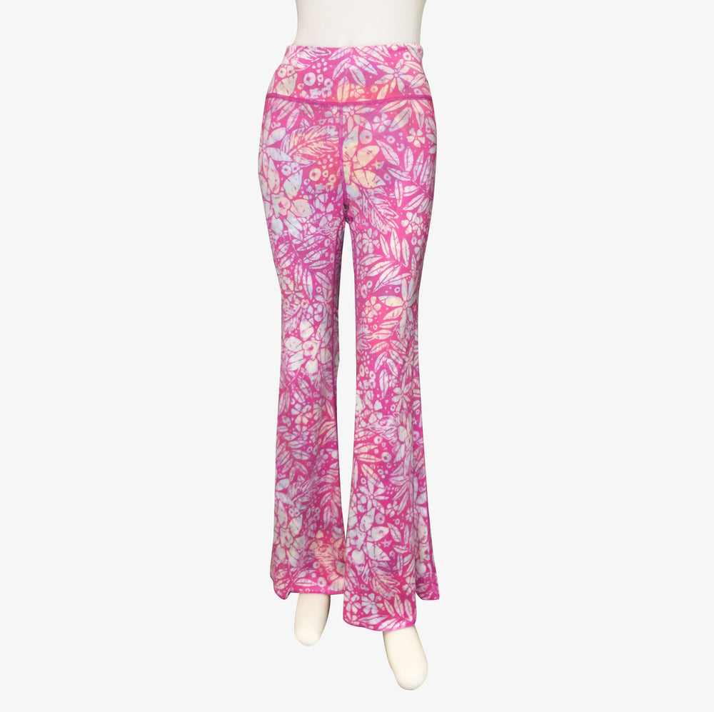 BELL BOTTOMS VINTAGE PINK HAWAII/PINK BATIK (long length)