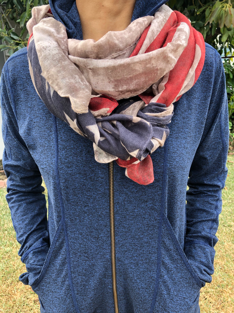 I LOVE THE USA SCARF