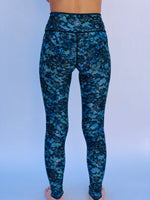 LEGGINGS BLUE LACE/1950's HAWAII