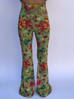 BELL BOTTOMS GREEN PIN UP/COCONUT (long length)