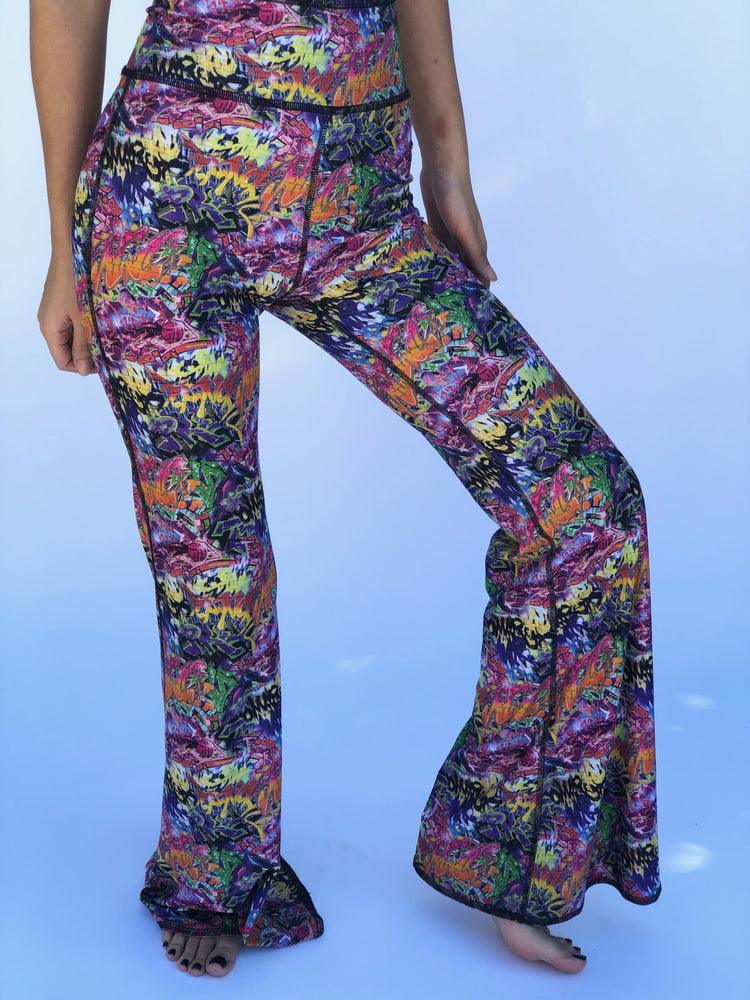 BELL BOTTOMS GRAFFITI/BUNS OF STEEL (short length)