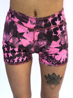 BOYS SHORTS LOW RISE PINK GRAFFITI/PINK STARS