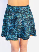 SKIRT/COVERUP BLUE LACE/1950's HAWAII