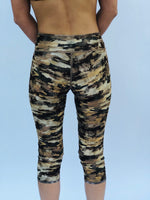 LEGGINGS LOW RISE GOLD CAMO/GOLD STARS