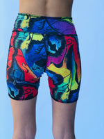 BIKE SHORTS JUSTIN CARR/BLACK
