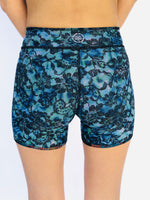 BOY SHORTS LOW RISE UNISEX BLUE LACE/1950's HAWAII
