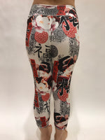 LEGGINGS MICROFIBER WHITE GEISHA