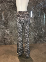 BELL BOTTOMS BLACK LACE/BLACK (long length)