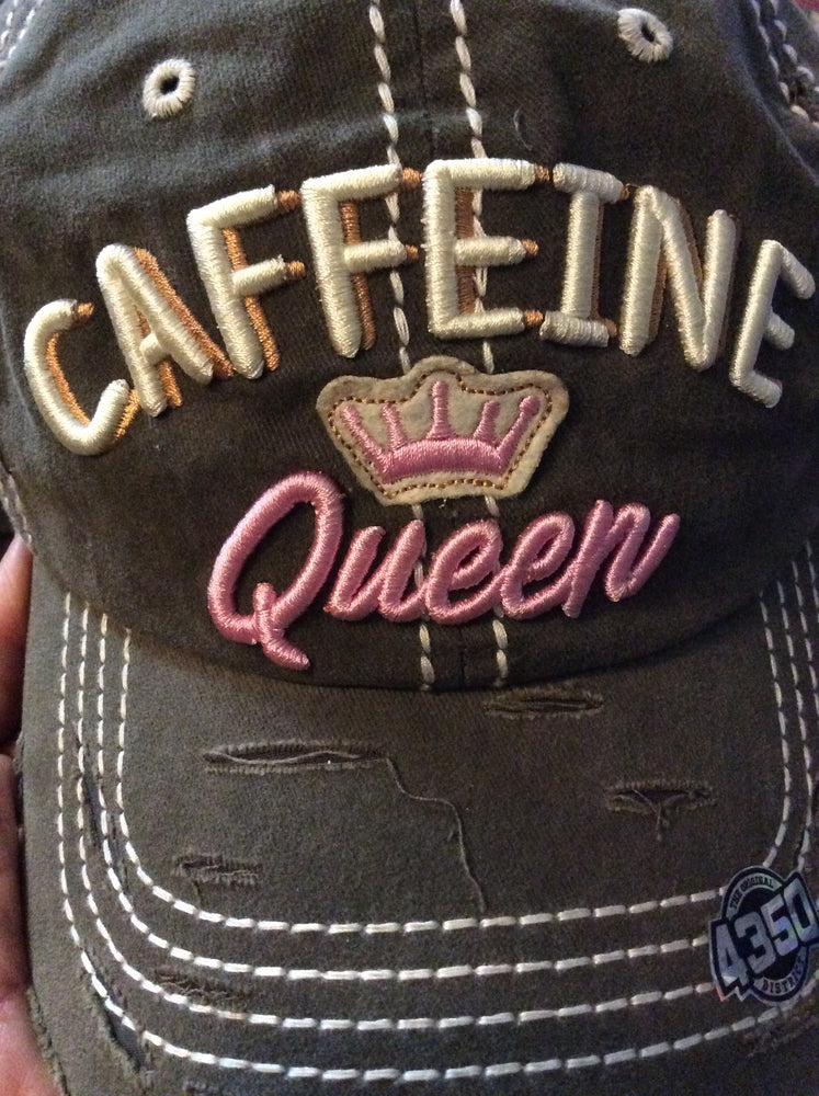 CAFFEINE QUEEN CAPS