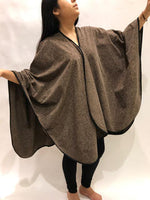 Brown Travel Shawl