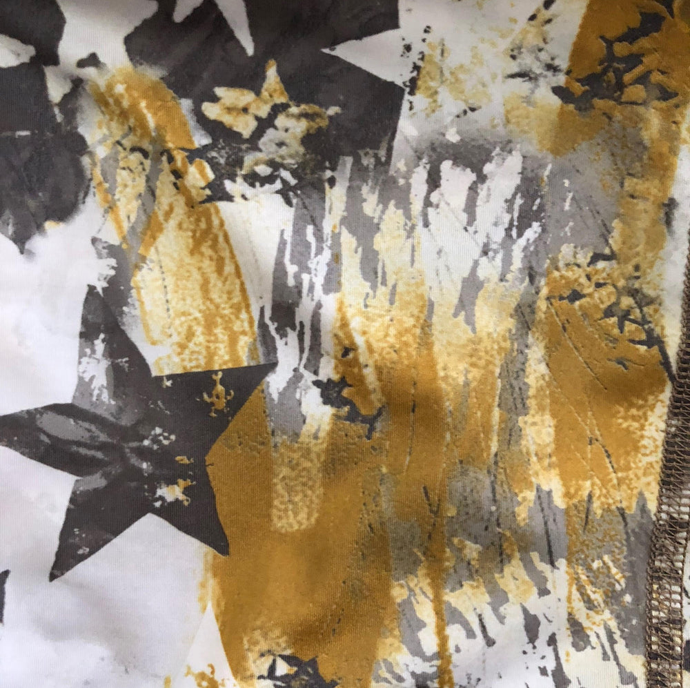 CAPRIS REVERSIBLE GOLD CAMO/GOLD STARS