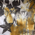 BOY SHORTS LOW RISE GOLD CAMO/GOLD STARS