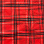 CAPRIS RED GEISHA/RED PLAID