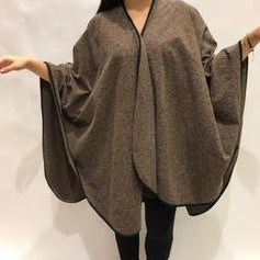 SHAWL TRAVEL BROWN