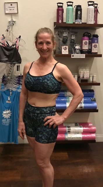 SPORTS BRA BLUE LACE/1950's HAWAII