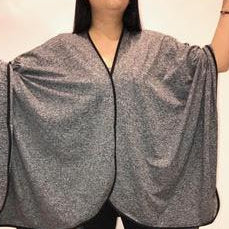 SHAWL TRAVEL HEATHER GREY