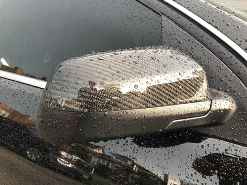 Chevy SS Carbon Fiber Mirror Caps