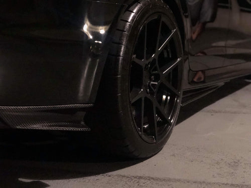 Chevy SS Carbon Fiber Side/Rear Skirts