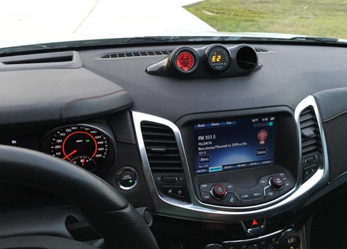 Chevy SS Center Mount Triple Gauge Pod