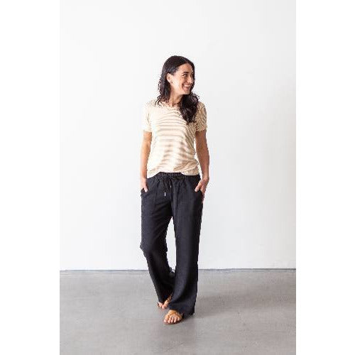 Wide Leg Tencel Pant