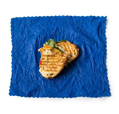 LARGE | Set of 3 large BLUE food wraps | Handmade in Toronto