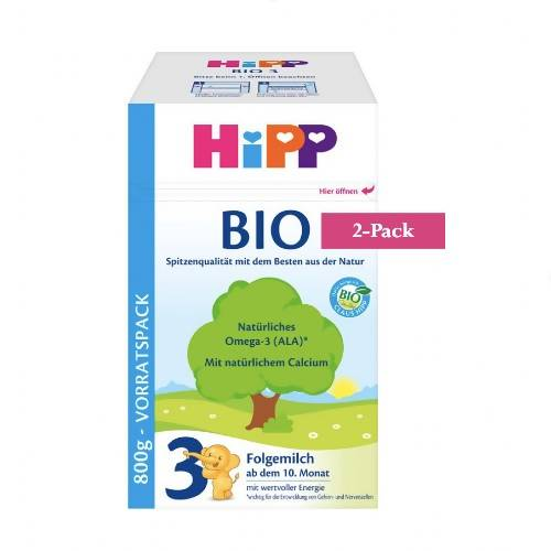 2-Pack HiPP Stage 3 Organic Bio Follow-on Milk (800g) $49.99 EA