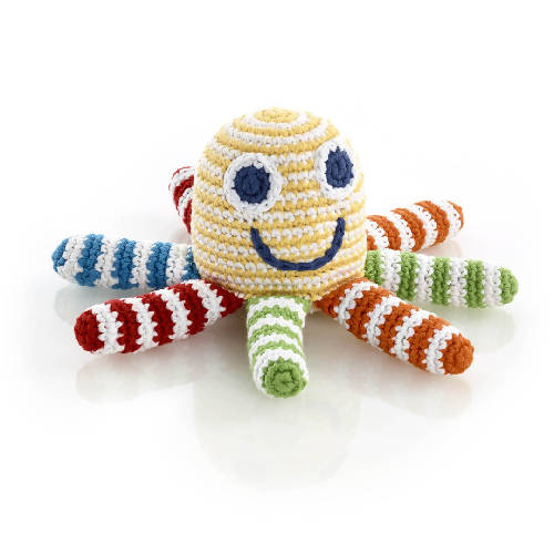 Octopus Rattle Rainbow