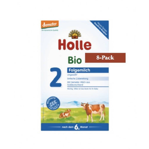 8-Pack Holle Stage 2 Organic (Bio) Follow-on Infant Milk Formula (600g) $29.99 EA