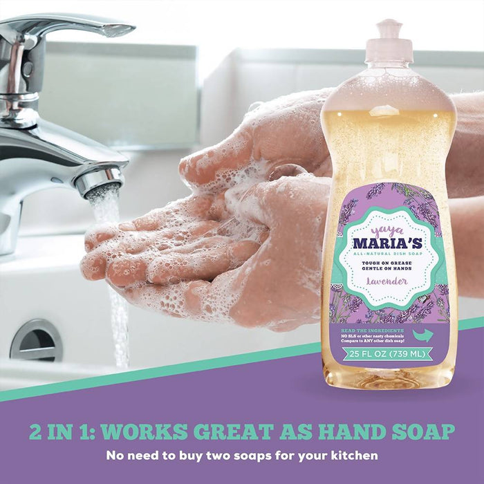 Yaya Maria's All-Natural Dish Soap (6 pack)