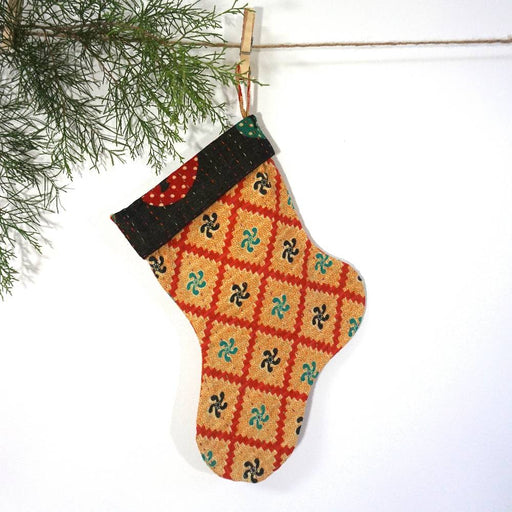 Mini Vintage Cotton Stocking