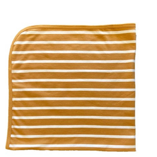 The Olen Stripe Blanket, Fawn