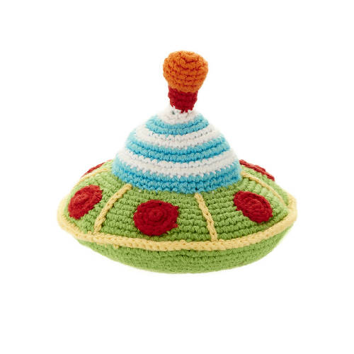 Flying Saucer Rattle