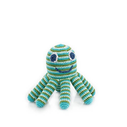 Octopus Rattle Green