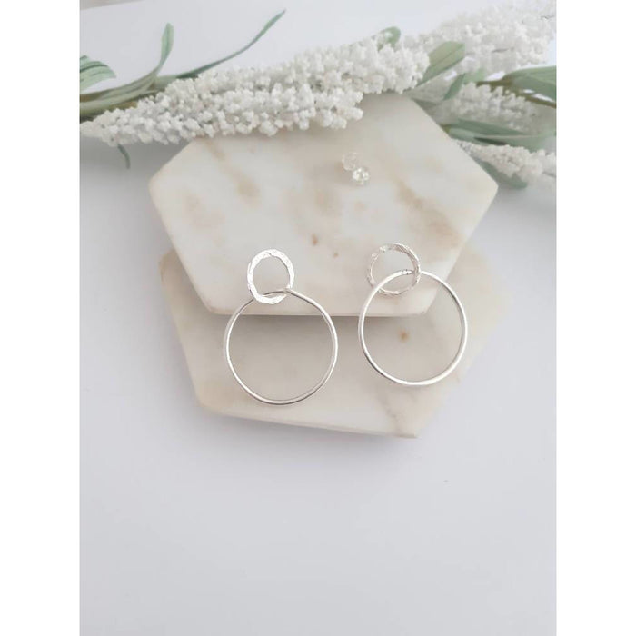 ECO - Serendipity Large Double Circle Earrings