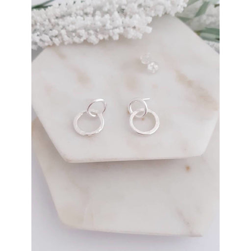ECO - Serendipidty Small Double Circle Earrings