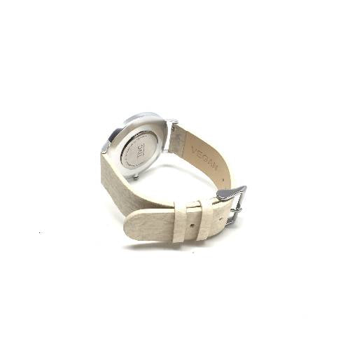 Silver | Pinatex Band (Natural)