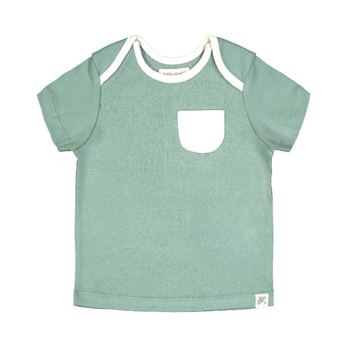 Short Sleeve Tee Shirt (Earth Green)