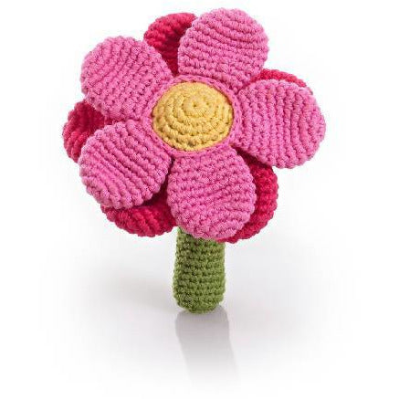 Flower Rattle Pink