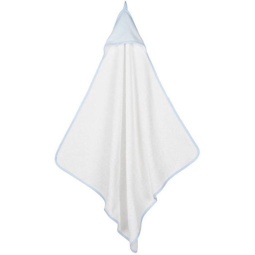 Deluxe Hooded Towel - Blue Stripe