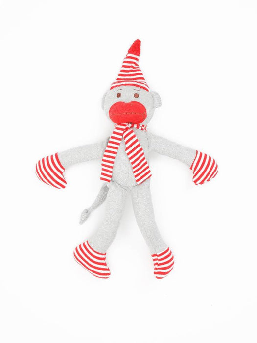 Holiday Monkey Stuffed Animal Toy