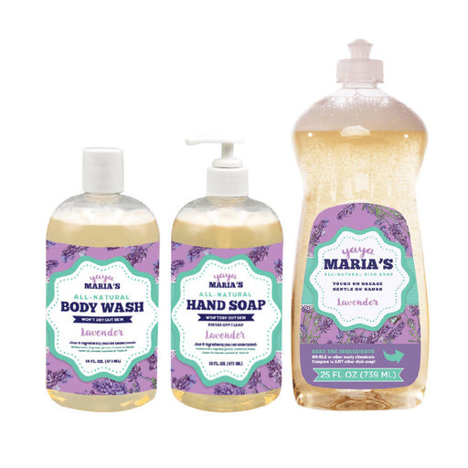 Yaya Maria's Natural Soap Bundle 3-Pack