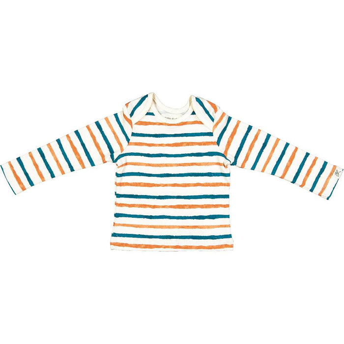Long Sleeve Tee Shirt (Watercolor Stripe)