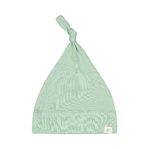 Top Knot Hat (Earth Green Print)