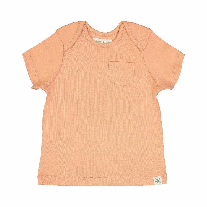 Short Sleeve Tee Shirt (Dusty Coral Print)