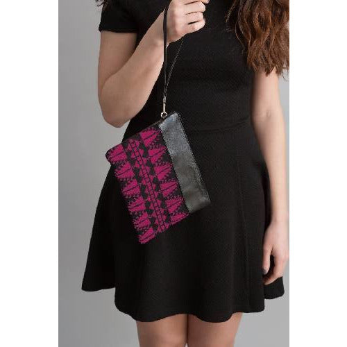 The Magenta Cypress Clutch